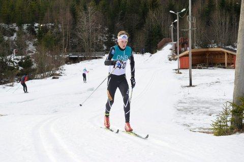 ANDREPLASS: Nikolai Einvik Jensen fra Runar gikk inn til andreplass i G13.