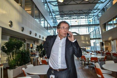 KAN VELGE FRA ØVERSTE HYLLE: Otto Søberg, administrerende direktør i Wood Group Mustang, fikk inn 2.700 søknader til 20 stillinger.