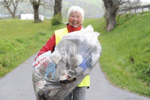 Vant ikke: Likevel er Rannveig Horntvedt veldig fornøyd med å kunne delta på konferansen.