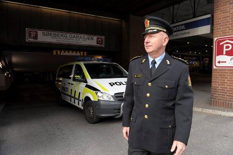 Poliitistasjonssjef Brian Jacobsen