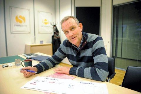 Når nye høyder: Komplett og konsernsjef Ole Vinje betegner 2015 som et rekordår. Arkivfoto: Lily Marcela Gundersen