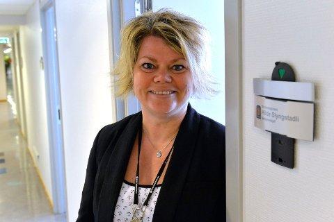 Hilde Slyngstadli forteller om hvordan det er å jobbe som namsmann i Sandefjord.