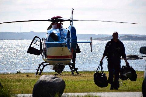 Et politihelikopter hang over Vestfold mandag 20. juni, men heller ikke de klarte å spore opp den savnede kvinnen.
