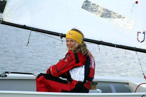 EM-klar: Nora Doksrød er godt forberedt til EM i optimistjolle som starter om få dager.