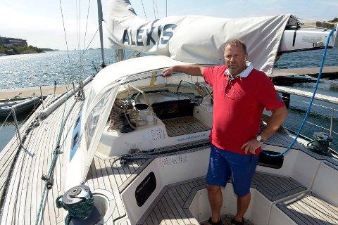 """Den intetanende eieren av båten, Olav Eide, leide ut """"Alexis"""" til smulgerne."""