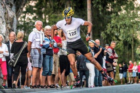 4. PLASS: Kristian Ankersen gikk en svært god sprint under helgens verdenscup. Arkivfoto: Privat