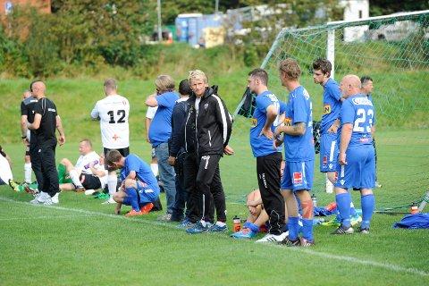 FORNØYD: Petter Olsen er svært godt fornøyd med det spillerne har prestert i år.