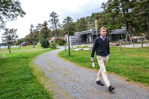 LANGEBY: Thomas Mørk Bjørk (H), leder i KF-utvalget, vil bli svært overrasket hvis utvalget ikke sier ja til kommunal drift fra årsskiftet.