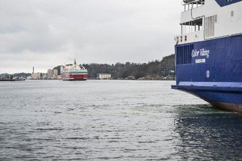 KONKURRANSEN SPISSER SEG: Både Color Line og Fjord Line har lansert planer for nye ferjer.