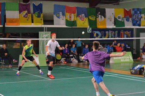 TIL VM: Ole Herman Imset (hvit skjorte) skal spille i junior-VM.