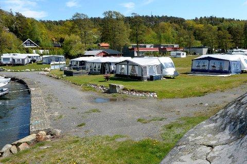 Klar for ny sesong: Campingen på Langeby vil gå som planlagt fra første mai. Det meste blir som vanelig, men med Sandefjord kommune som drivere.
