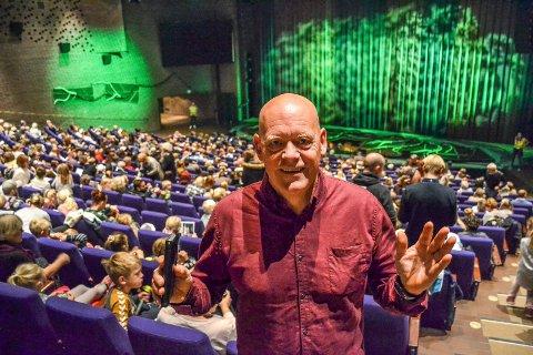 OVERVELDET: – Helt fantastisk, sier Tom Gunnar Børresen, leder i Sandefjord Teaterforening.