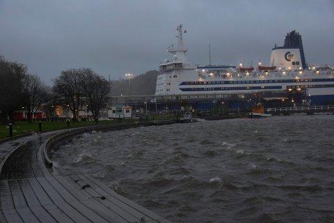 BRYGGA: Tre ganger kom 19-åringen i klammeri med politiet på Brygga. Det endte med fengsel.