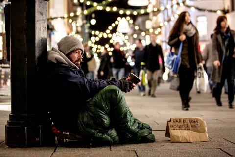 """TV-kjendis kommer: Petter """"uteligger"""" Nyqvist holder foredrag i Hjertnes om de 52 dagene han dokumenterte livet blant rusmisbrukere og hjemløse i Oslo."""
