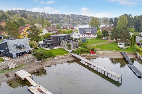 TOPP TO: Capellaveien 13 er den nest dyreste boligen solgt i Sandefjord i 2017.