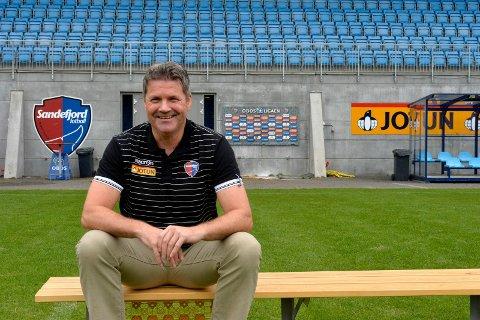 Daglig leder Per Kjetil Berg i Sandefjod Fotball .