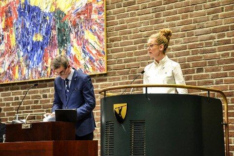 HUNGERSNØD: Ordfører Bjørn Ole Gleditsch (H) vil ikke innfri ønsket fra Charlotte Jahren Øverbye (SV) om et kommunalt bidrag for å avhjelpe hungersnøden i Afrika.