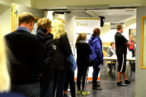 STORTINGSVALG: Årets valg finner sted 10. og 11. september. (Illustrasjonsfoto: Olaf Akselsen)