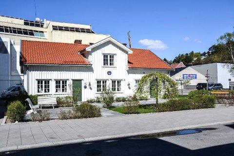 BYTTEDAG: Sandefjord Turistforening har sine lokaler i Matrosgata 6 ved Hvaltorvet.