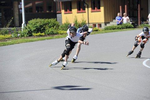 To seire: Herman Hoff gikk fort i sin klasse og vant begge distansene.