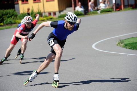 Rask: Tormod Bjørnetun Haugen var raskest på 500 meter.