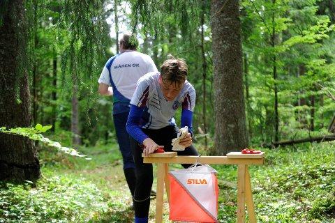 Seier: Sandefjord Orienteringsklubbs Cornelius Bjørk løp inn til seier lørdag og ble nummer fem søndag.