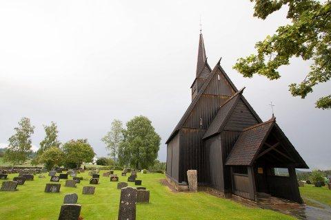 Høyjord stavkirke feirer olsok lørdag 29. juli.