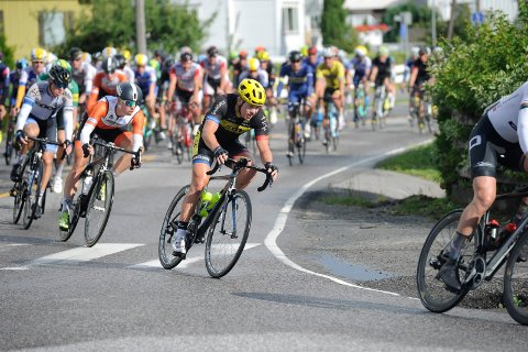 I EGEN BY: Ken-Levi Eikeland under Sandefjord Grand tour i sommer.