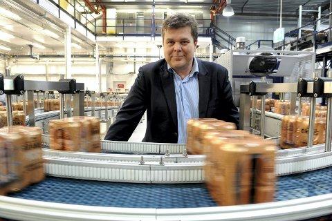 STERKT FJORÅR: – Vi gjorde det bra i alle varegrupper, og særlig hadde Grans en sterk vekst på vann i 2016, sier Morten Gran, administrerende direktør i Grans Bryggeri.