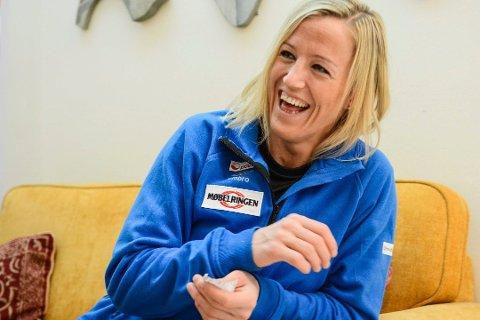 SPILLEKLAR: Sandefjordingen Heidi Løke er klar for sin første håndballkamp etter at hun fødte sønnen Oscar.