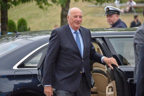 FRISK OG RASK: Melding om Kong Haralds bortgang, skyldes en teknisk feil hos nyhetsbyrået NTB.