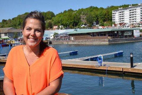 FORNØYD: Fylkespolitiker Lene Westgaard-Halle (H) vil at Vestfold skal satse på solenergi.