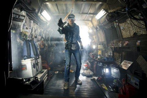 Filmer: Tye Sheridan spiller hovedrollen i «Ready player one» – som er en av mange filmer å glede seg til i år.