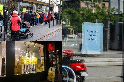 KONKURS: En rekke butikker og selskaper har blitt meldt konkurs i Sandefjord i løpet av året som har gått.
