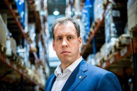 ENDRING: Konsernsjef Lars Olav Olaussen for Komplett Group sier at kundenes tilbakemelding var avgjørende for valget om å reorganisere Markedsplassen.