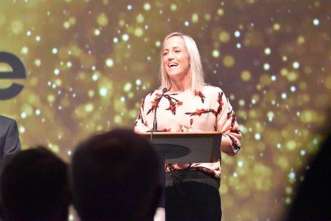 VANT I FJOR: Heidi Løke vant prisen for årets kvinnelige utøver i Vestfold under idrettsgallaen i fjor. Snart skal nye vinnere kåres, og du kan sende inn forslag på kandidater.
