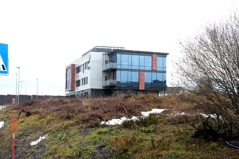 VIL UTVIDE: Eierne av Tassebekk Office Center vil utvide, men Vestfold fylkeskommune setter foten ned.