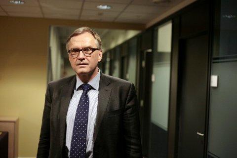 SØKER: Hans Sverre Sjøvold søker på stillingen ssom sorenskriver i kommende Vestfold tingrett. Han har tidligere vært politimester i Vestfold.