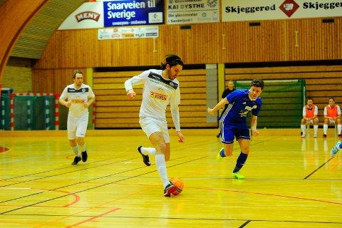 SEIER: Mak Dizdar og Sandefjord Futsal sikret totalt fire poeng i Jotunhallen denne helgen.