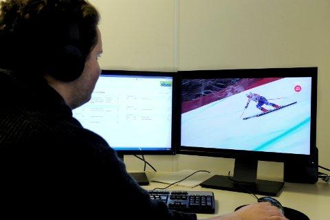 PÅ JOBB: Ikke alle arbeidsgivere er villige til å betale deg for at du skal se på OL i arbeidstiden. Særlig ikke på egen PC, da det kan gå ut over nettverket.