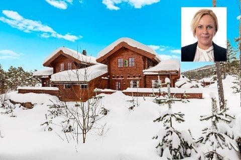 POPULÆRT: Sandefjordinger flokker til Vrådal i Telemark for å kjøpe hytter, sier Anette Cathrine Vindum.