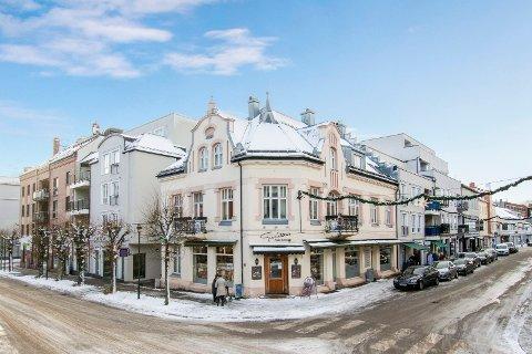 GUNILLAGÅRDEN: Bygården fra cirka 1900 legges ut for nærmere ti millioner kroner.