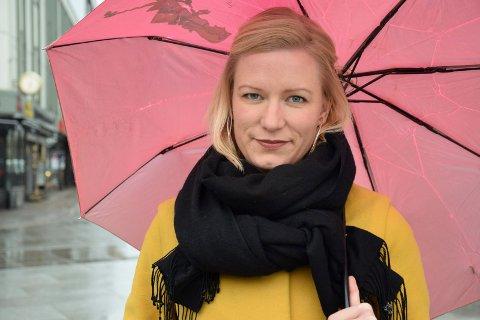 KLIMARÅDGIVER: Ingrid Næss-Holm er klimarådgiver for Kirkens Nødhjelp. Søndag kommer hun til temakvelden i Bugården kirke.