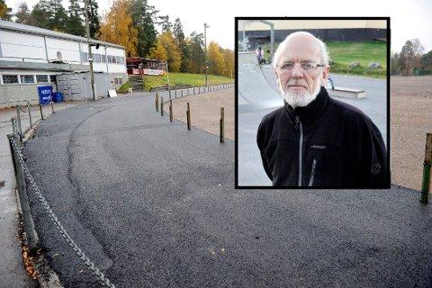 TJA TIL MAIER ARENA: – Jeg vil ikke si nei til skøytearenabidrag til Tønsberg. Vi vil jo gjerne ha is, og skøyteis ute er noe eget, sa leder av Idrettsrådet i Sandefjord, Thor Henning Nilsen.