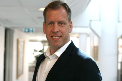 NY TOPPSJEF: Lars Olav Olaussen er hentet fra Orkla til Komplett.