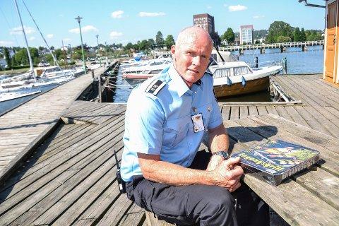 BRANNFARLIG: Varabrannsjef Carl Fridthjof Jacobsen er fornøyd med sandefjordingene.