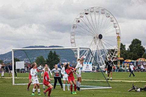 NORWAY CUP: Flere lokale lag blir å se direkte på sb.no fra Norway Cup. Her er et bilde fra turneringen i et tidligere år. (Pressefoto: Norway Cup)