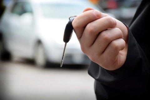 MISTET LAPPEN: En kvinne i 40-årene valgte å flytte bilen sin noen få meter på en parkeringsplass. (Illustrasjonsfoto/arkiv: Lily Marcela Gundersen)