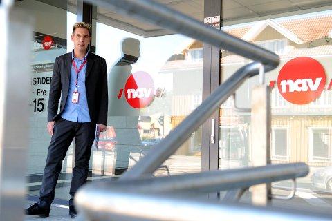 STABILT NED: – Det interessante og gledelige er at vi har klart å opprettholde nedgangen i ledighet over tid, sier Nav-leder i Sandefjord, Henning Fjell Johansen.