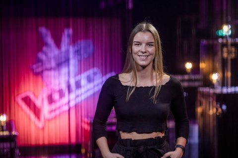 KLAR FOR AUDITION: Mina Sofie Lund blir å se på TV fredag kveld.